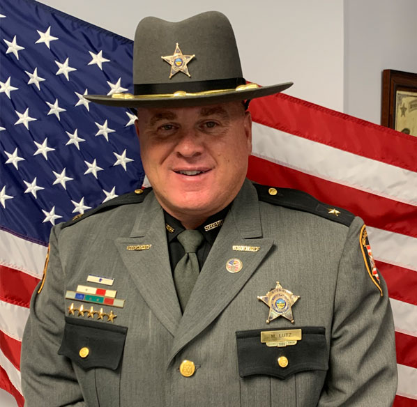 Muskingum County Sheriff Matt Lutz
